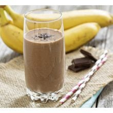 powdered pb chocolate banana shake