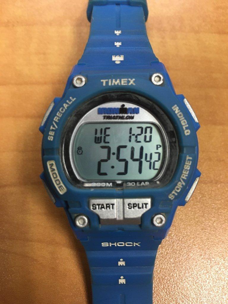 timex triathlon shock not beeping anymore alarm