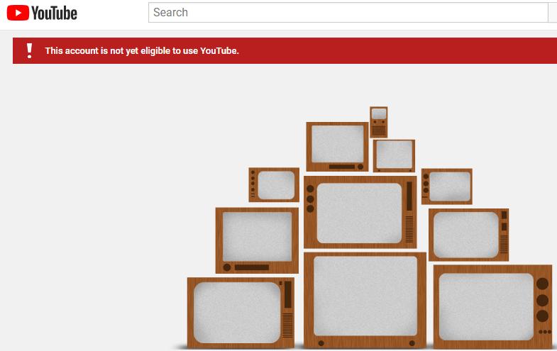 youtube-account-not-eligible